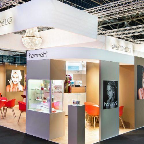 Exhibition Stand Cosmetics : Exhibitions maqutos