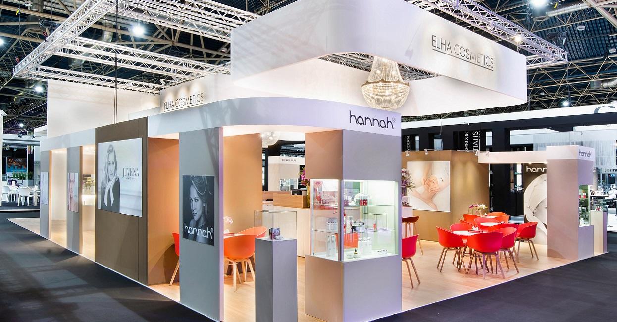 Cosmetic Exhibition Stand Design : Elha cosmetics beauty trade special march u maqutos